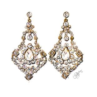 product_chandelier earrings