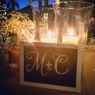 M & C | lovely letters