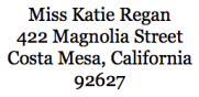 Address Sample